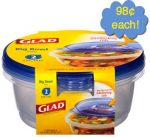 Walmart Glad Containers