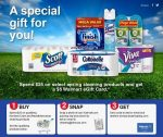 Walmart $5 Gift Card Spring Cleaning