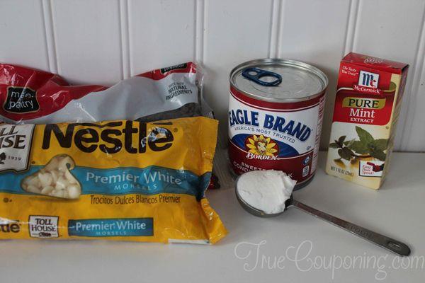 Mint-Chocolate-Chip-Fudge-Ingredients