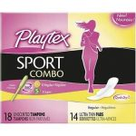Playtex Sport Combo Pack 18-14