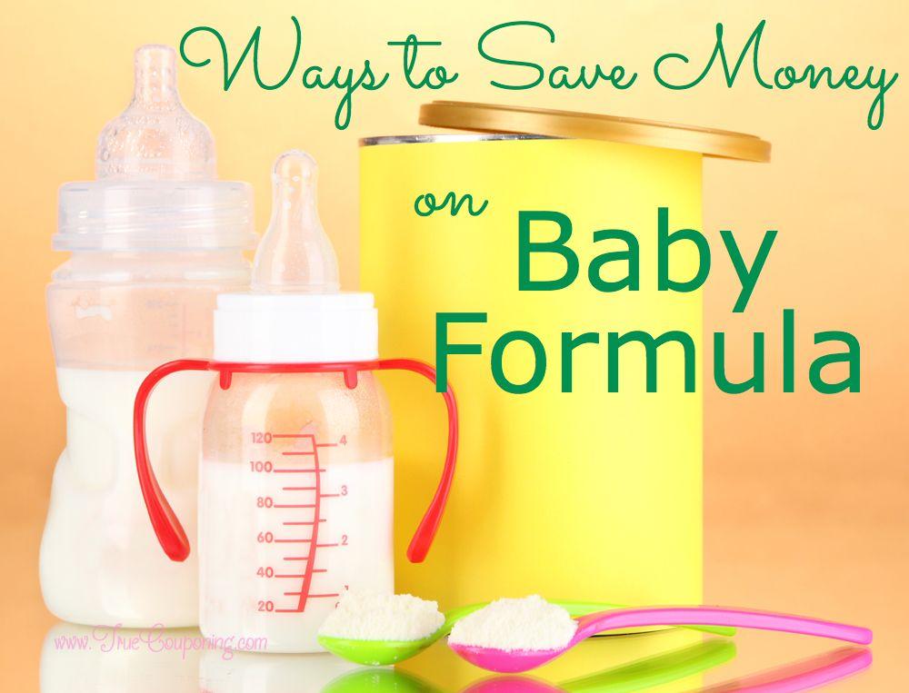Save Money Baby Formula