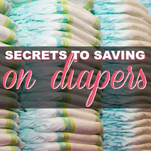 How to Save Money on Baby Diapers