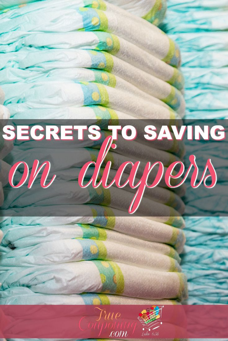 Secrets to Saving on Diapers | Save THOUSANDS with our diaper saving tips.