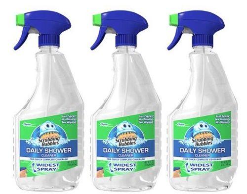 scrubbing bubbles daily shower