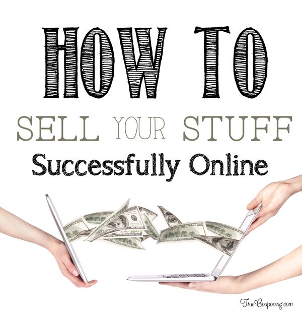 FOUR Easy Ways to Make Money Selling Your Excess Stuff Online!