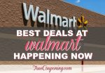 EIGHT (8!) Money Makers & FIVE (5!) FREEbies at Walmart Plus NINETEEN (19!) Items LESS THAN 59¢ Each!