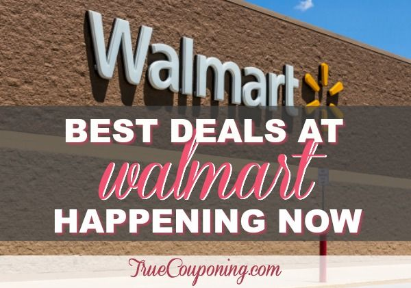 FIVE (5!) Money Makers & FIVE (5!) FREEbies at Walmart Plus SEVENTEEN (17!) Items LESS THAN 76¢ Each!