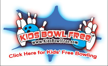 Take the Kids Bowling for FREE!