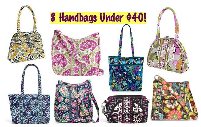 Vera Bradley Sale ~ 8 Handbags Under $40 (Eloise Shoulder Bag is only $20.99)!  Ends TOMORROW 4/8
