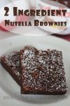 Grab Your Deal on Nutella at Publix TODAY and Make These for Dessert Tonight!