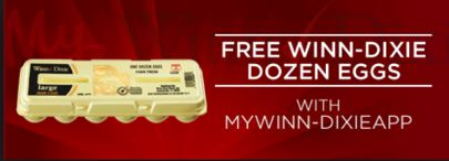 FREE Eggs Winn Dixie