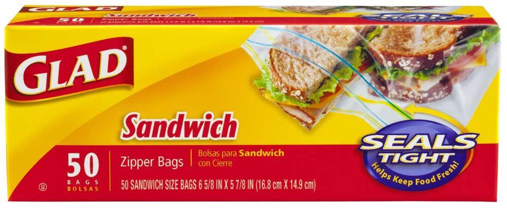 Glad Sandwich 50 ct