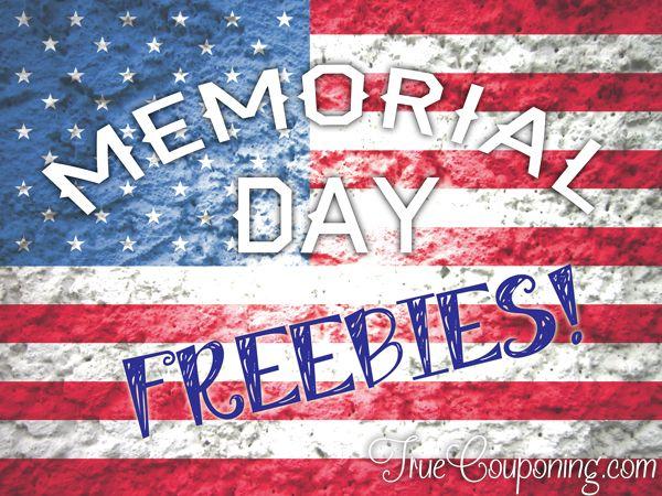 Memorial day freebies 2019