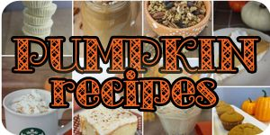 Pumpkin Recipes small
