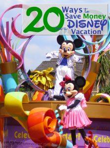 Save Money Disney 2