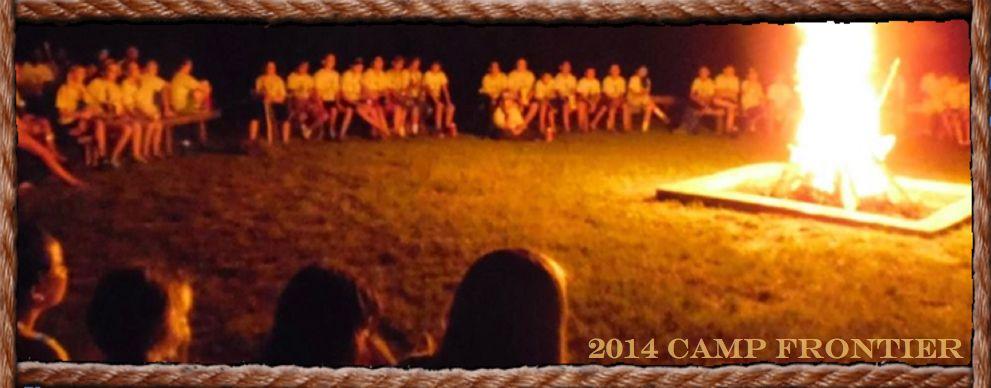 Camp Frontier Bonfire