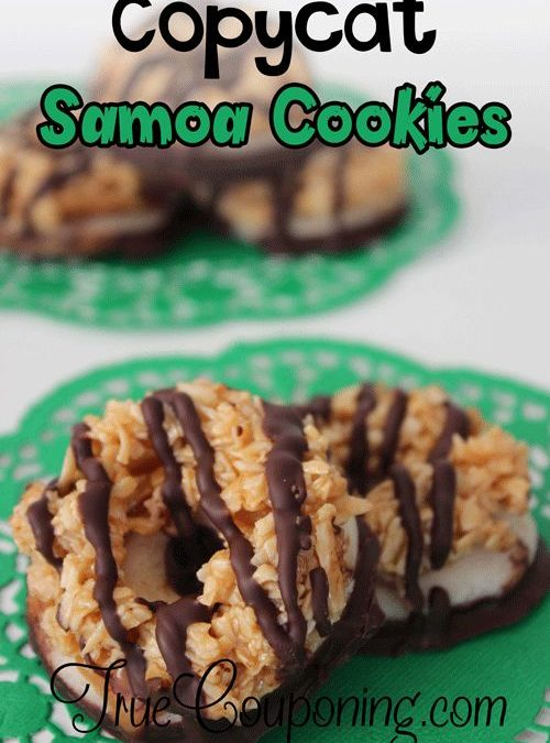Copycat Girl Scout Samoa Cookies Recipe