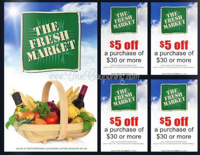 Fresh Market $5 Off $30