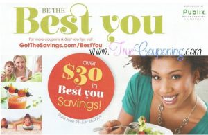 "Publix Coupon Booklet & Printables: ""Be the Best You"" (6/28 – 7/26)"