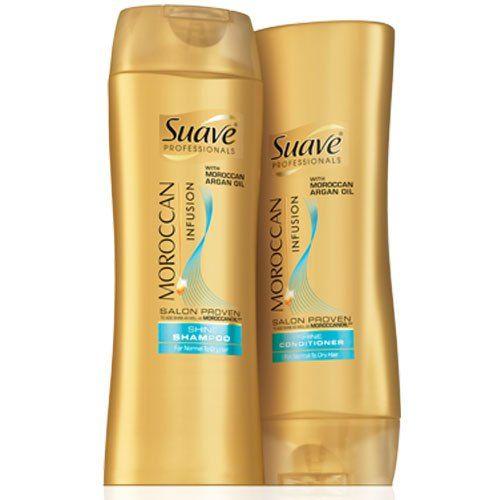 Suave Professionals Moroccan Infusion Shampoo & Conditioner