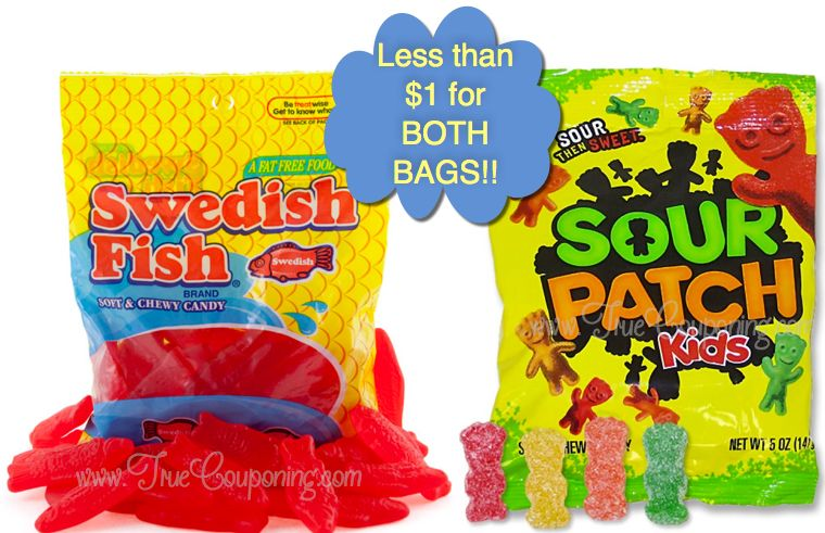 Hot deal fox aired today swedish fish sour patch kids for Sour swedish fish