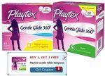 Walmart FREEbes Playtex Gentle Glide