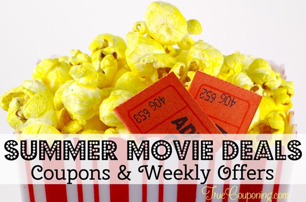 summer movie deals weekly