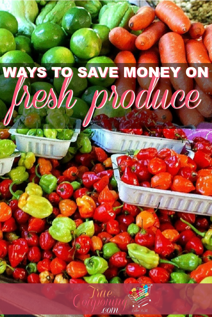 Ways to Save Money on Fresh Produce! | Keep your family healthy and save money too!