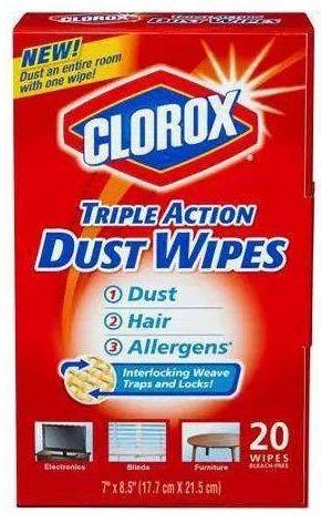 Walmart Clorox Triple Action Dust Wipes