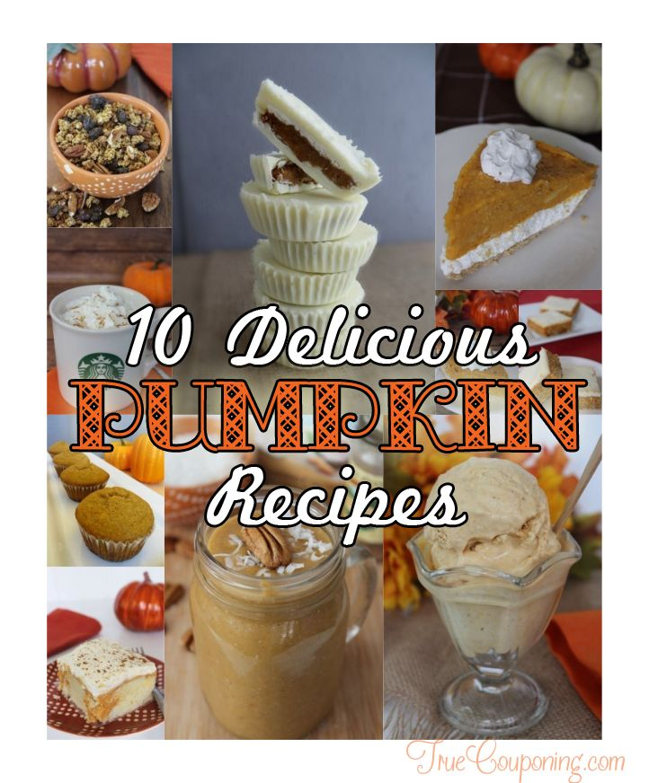 10 Delicious Pumpkin Recipes vert