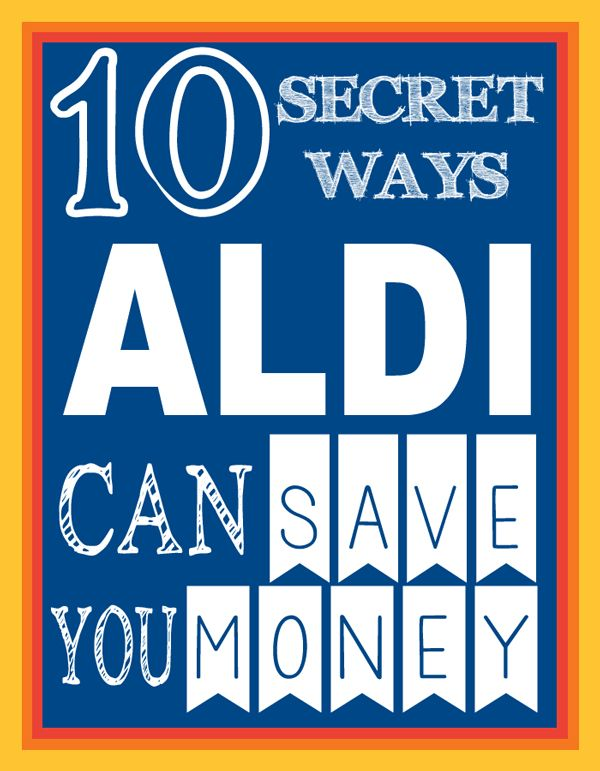 Aldi Specials Save You Money