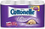 Cottonelle ultra double 12 pk