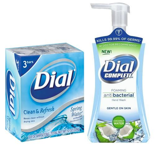 CVS: Dial Bar Soap 3 Pack or Complete Hand Wash $0.50 Each! ~Ends 8/8!