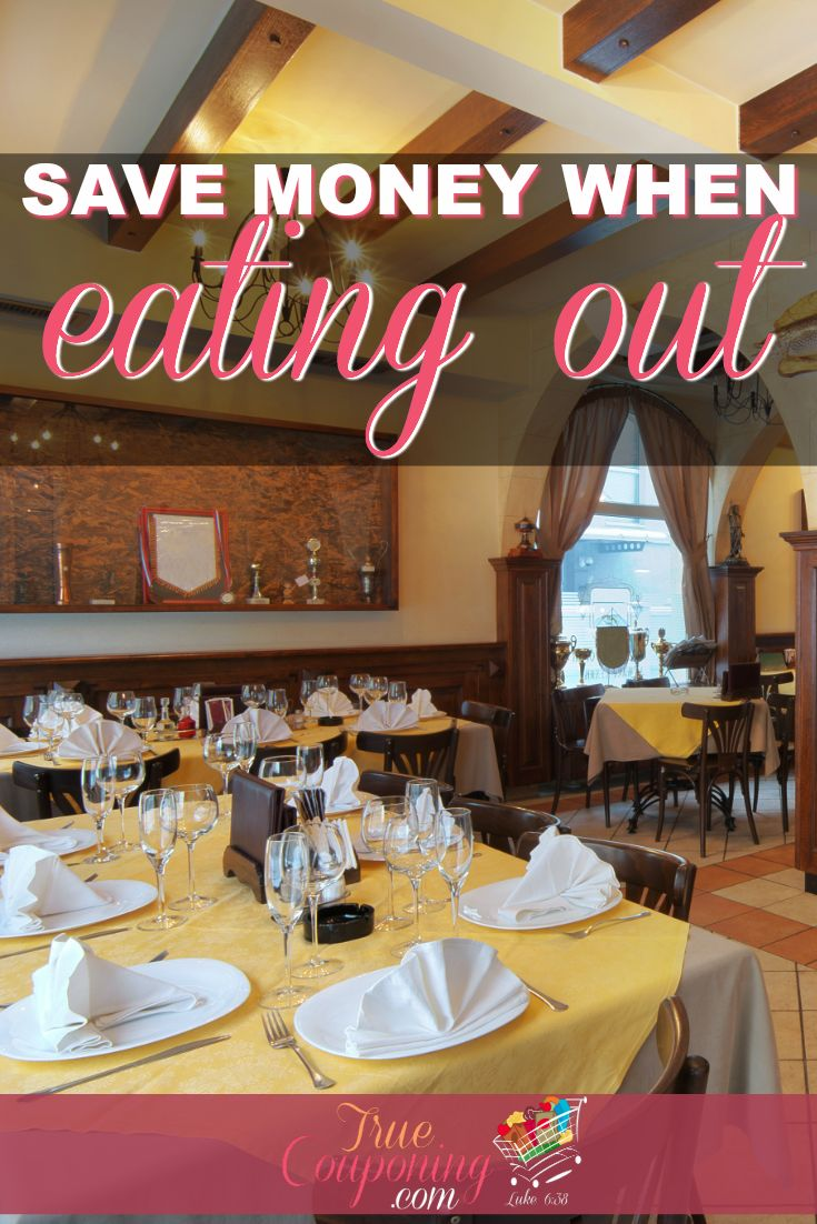 How to Save Money When Eating Out | Plan ahead when dining out, and enjoy the food AND the savings!