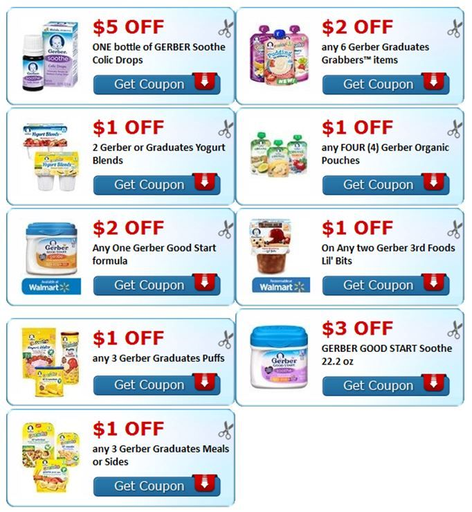 Gerber good start coupons printable 2018