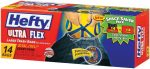 Hefty Ultra Flex 14 ct 30 gal