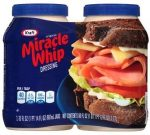 Kraft Miracle Whip twin pack