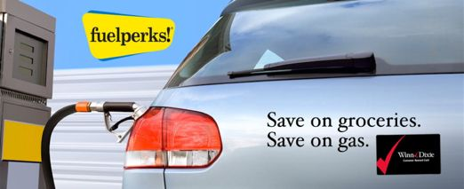 Winn Dixie FuelPerks ~ An Easy Way to Save MORE MONEY on Gas!