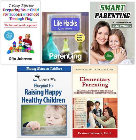 5 FREE eBooks:  Kids and Parenting