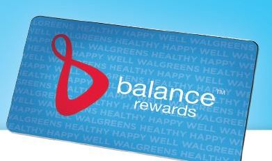 walgreens balance rewards card