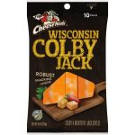 Frigo Cheese Heads Premium Snacking Wisconsin Colby Jack Cheese Sticks 10 ct