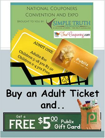Join Us at the National Couponers Convention Friday & Saturday September 18 & 19