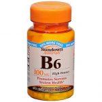Sundown Naturals B6 50 mg 150 ct