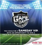 WD Game Day Coupon Flyer