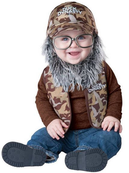 Halloween Costume Duck Dynasty Uncle Si Baby Starting at $9.41 Including Shipping!