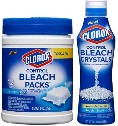 Clorox Bleach Packs or Crystals