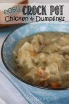 Chicken & Dumplings Don't Get Much Easier Than This!