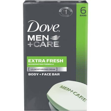 Walmart: Dove Men+Care Bar Soap 6 Pack $2.88 Each (Save $4)! ~Ends 10/28!