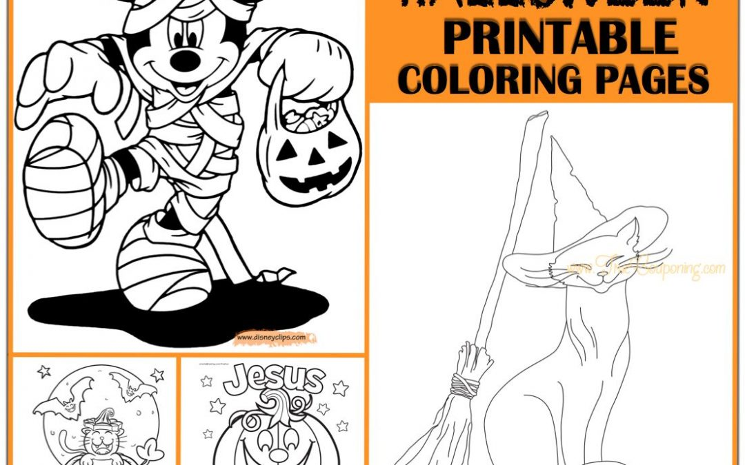 Ultimate Scary Fun With Free Halloween Pumpkin Coloring Pages