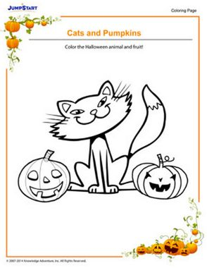 Halloween Coloring Pages 7